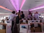 Hai hành khách lao vào đánh nhau chảy máu mũi trên máy bay