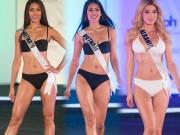 """Giữa nước Mỹ xa hoa, thí sinh Hoa hậu Hoàn vũ thi bikini ở sân khấu bị chê  """" cùi bắp """""""