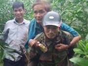 Cụ ông  mất tích  tại bệnh viện, được phát hiện trong rừng sâu sau 3 ngày