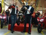 Panigale V4 của Ducati bản thương mại đi vào sản xuất