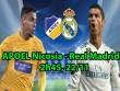 "APOEL Nicosia - Real Madrid:  "" Hổ dữ ""  Ronaldo khoe nanh vuốt"