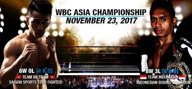 """Kinh động boxing: """"Độc cô cầu bại"""" Việt lần đầu tranh đai vô địch WBC 2"""