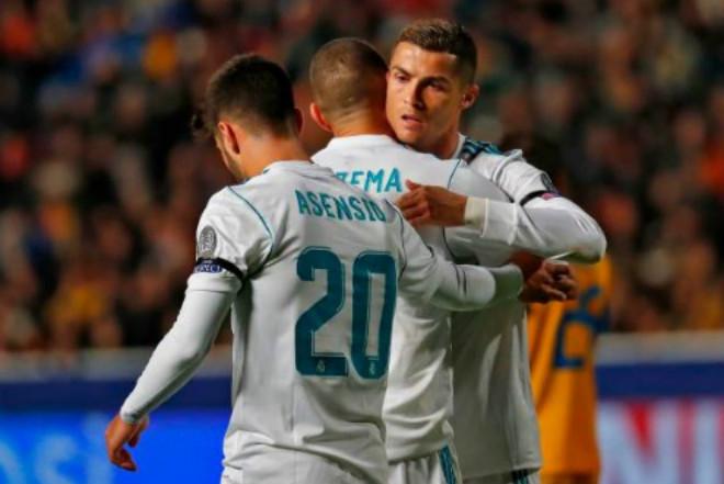 APOEL - Real Madrid: Cú đúp siêu sao, tưng bừng 6 bàn