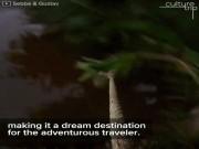 """ Xõa tới bến ""  tại khu du lịch mạo hiểm ở Campuchia"