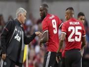 Họp báo MU đá cúp C1: Mourinho  cáu  với Lukaku vụ thoát án tù
