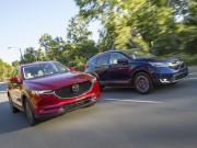 Honda CR-V 2017  & amp; Mazda CX-5 2017: Xe nào tốt hơn?