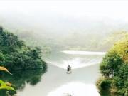 """Cuối tuần, rủ nhau phượt Hồ Ly-  """" Tuyệt tình cốc """"  phiên bản Phú Thọ"""