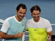 Federer thăng hoa, Nadal bền bỉ: Hai siêu nhân thống trị mùa 2018?