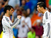 """Ronaldo thăng hoa cúp C1, thê thảm ở Liga:  """" Thủ phạm """"  Isco?"""