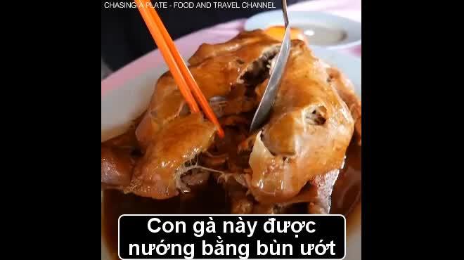 """""""Gà ăn mày"""", món ăn truyền thống ngon xuất sắc của Malaysia"""