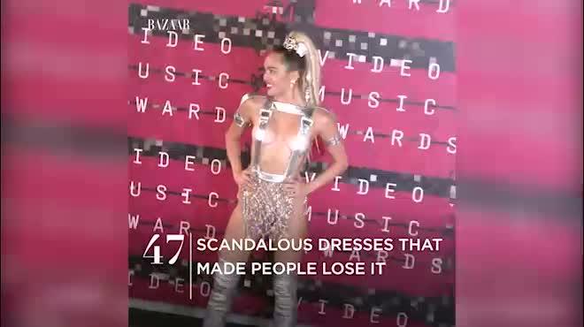 47 chiếc váy táo bạo nhất trong lịch sử showbiz Tây Âu