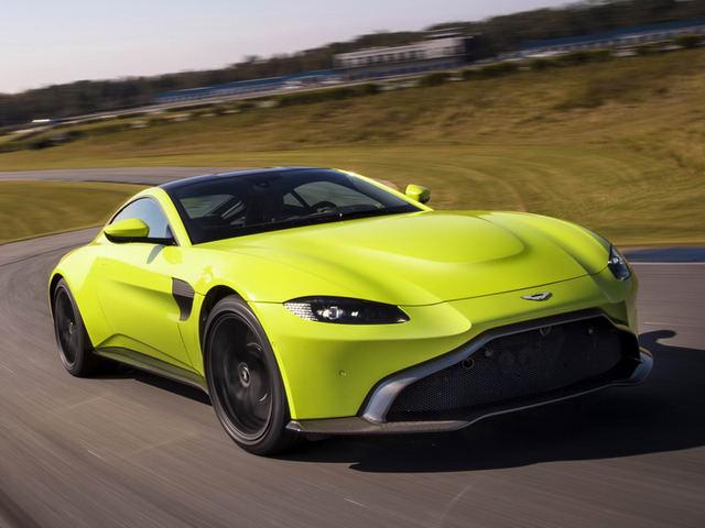 Tuyệt tác Aston Martin Vantage 2018 giá 3,4 tỷ đồng - 1