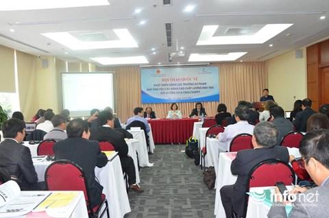 Kiến thức trong SGK của Việt Nam hiện nay mới chỉ bằng 70% so với các nước - 1
