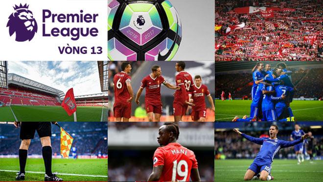 """Ngoại hạng Anh trước vòng 13: Liverpool """"át vía"""" Chelsea, MU chờ bứt phá 3"""