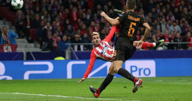 """Tuyệt tác cúp C1: Griezmann """"ngả bàn đèn"""", Neymar đua """"săn bàn"""" Cavani 1"""