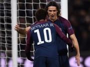 Tuyệt tác cúp C1: Griezmann  ngả bàn đèn , Neymar đua  săn bàn  Cavani