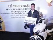 Trung Nguyên, G7 trao 11 giải thưởng xe máy  & amp; nhẫn vàng cho khách hàng may mắn