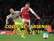 Cologne - Arsenal:  Pháo  đã lên nòng, Ngoại hạng Anh phủ bóng