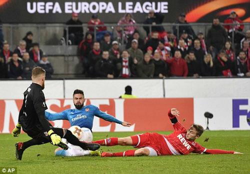 Chi tiết Cologne - Arsenal: Lực bất tòng tâm (KT) 25