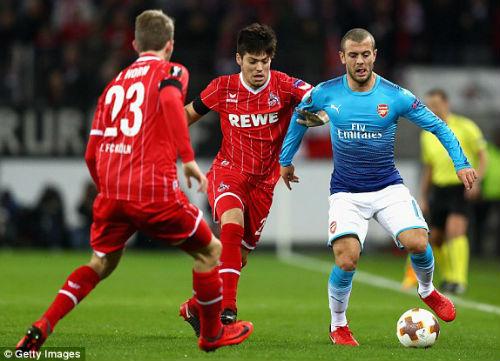 Chi tiết Cologne - Arsenal: Lực bất tòng tâm (KT) 21