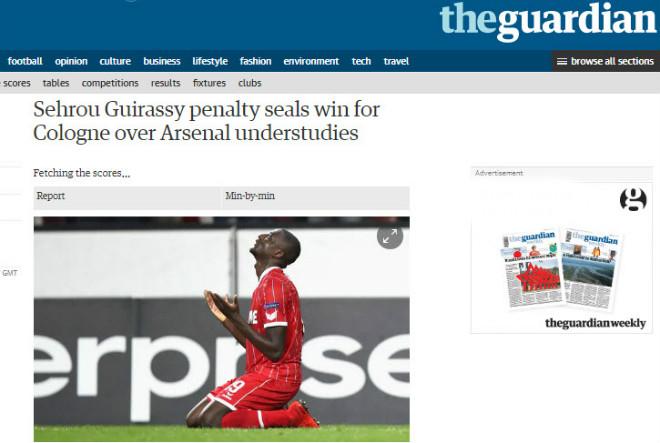 """Arsenal thua sốc: Báo Anh chê tơi tả, rộ tin Wenger sắp """"về vườn"""" 2"""