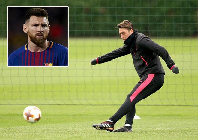 """Barca săn """"bom tấn"""": Messi chê Ozil, chỉ kết Coutinho 120 triệu bảng 1"""