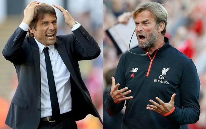 "Liverpool đấu Chelsea: Klopp - Conte ""đọ lửa"", Hazard so tài ""Messi Ai Cập"" 1"