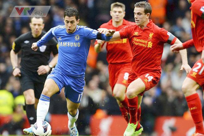 Vòng 13 Ngoại hạng Anh trên VTVcab: Đại chiến Liverpool - Chelsea 1