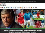 """Arsenal thua sốc: Báo Anh chê tơi tả, rộ tin Wenger sắp  """" về vườn """""""