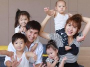 """Ca sỹ Lý Hải:  """" Bốn đứa con với tôi là quá đủ """""""