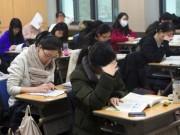 Cả xã hội Hàn Quốc hướng về kỳ thi có ý nghĩa  ' thay đổi số phận '