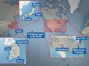 Tiết lộ 15 mục tiêu tấn công hạt nhân của Triều Tiên