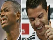 """SAO bóng đá dính tù tội: Robinho 9 năm tù, Ronaldo, Persie suýt  """" xộ khám """""""