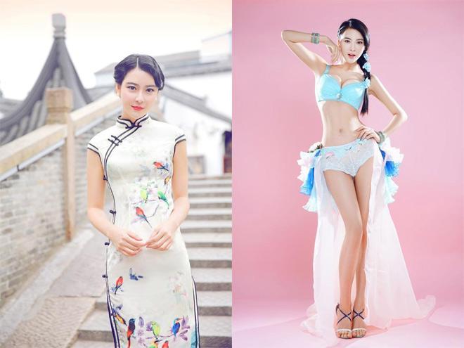 """""""Đệ nhất Thiếu Lâm"""" lộ bạn gái: Hoa hậu Thượng Hải, siêu mẫu bikini 3"""