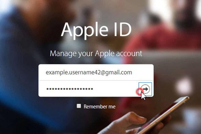 Cách thay đổi địa chỉ email đã khai báo trên Apple ID