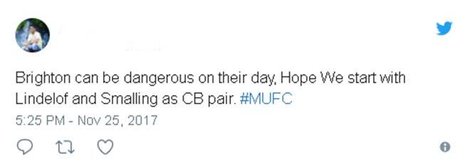 """TRỰC TIẾP bóng đá MU - Brighton: Fan """"vận động"""" vì Lindelof 19"""