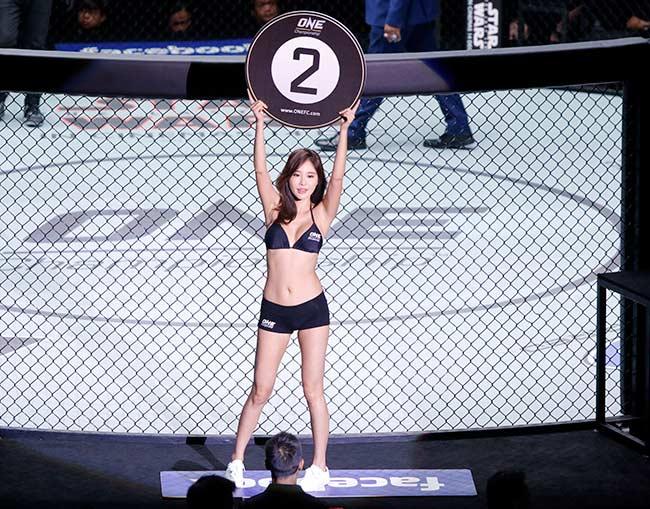 Dàn hot girl nóng bỏng ở giải MMA lớn nhất châu Á 4