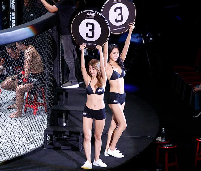 Dàn hot girl nóng bỏng ở giải MMA lớn nhất châu Á 5