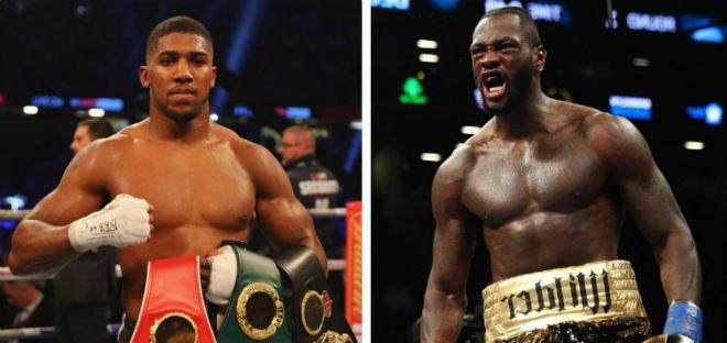 """Vua boxing Joshua tuyên chiến 3 """"gã khổng lồ"""": Hạ Wilder bằng 1 cú đấm 2"""