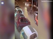 Video: 2 lần thoát chết liên tiếp chỉ trong một giây ở TQ