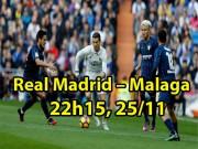 Real Madrid - Malaga: Sự hưng phấn của Ronaldo, Benzema