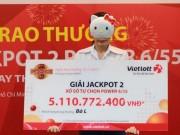 Giải đặc biệt của xổ số Vietlott lên 120 tỉ: Tỉ lệ trúng  không tưởng