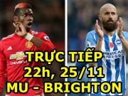 TRỰC TIẾP bóng đá MU - Brighton: Cơ hội cuối cho Mkhitaryan?