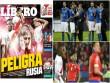 """Italia ôm mộng dự World Cup:  """" Nhát kiếm chí tử """"  từ Peru"""