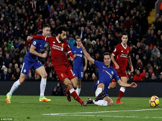 """Báo chí Anh """"tổng tấn công"""" tội đồ Mignolet, khen hết lời siêu anh hùng Salah 9"""