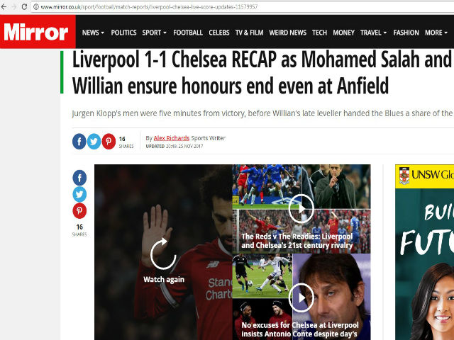 Liverpool mất điểm phút cuối: Klopp uất nghẹn, Conte xem thường 4