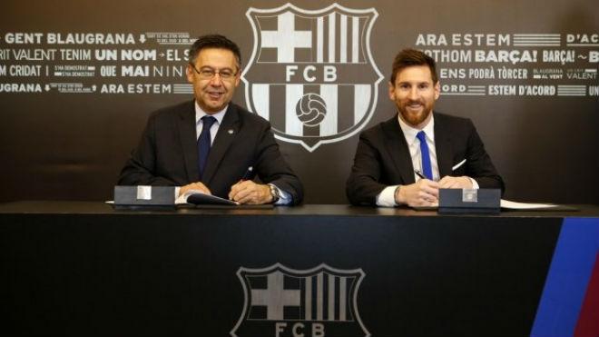 """Barca """"trói"""" Messi 700 triệu euro: Tránh """"vết xe đổ"""" Neymar, Ronaldo ghen tị - 2"""