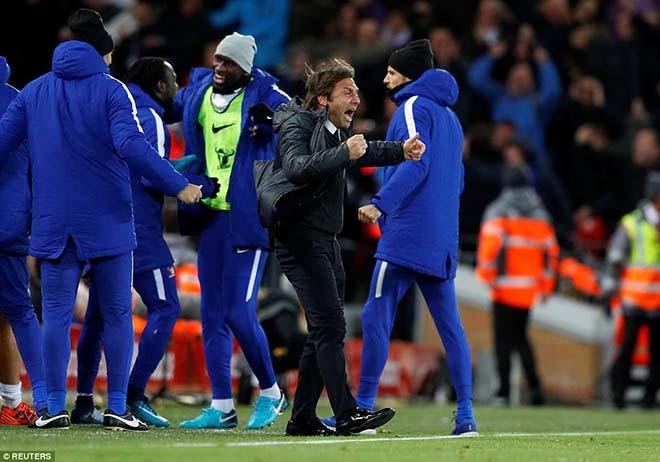 Liverpool mất điểm phút cuối: Klopp uất nghẹn, Conte xem thường 1