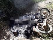An ninh Xã hội - Tá hỏa phát hiện thi thể cháy đen cùng xe máy bên rẫy cà phê