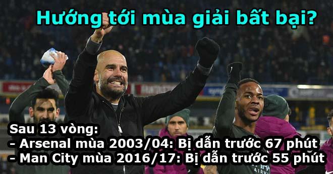 Man City chỉ 4,4 phút/trận bị dẫn bàn: Ăn đứt MU, sẽ vô địch bất bại? 3
